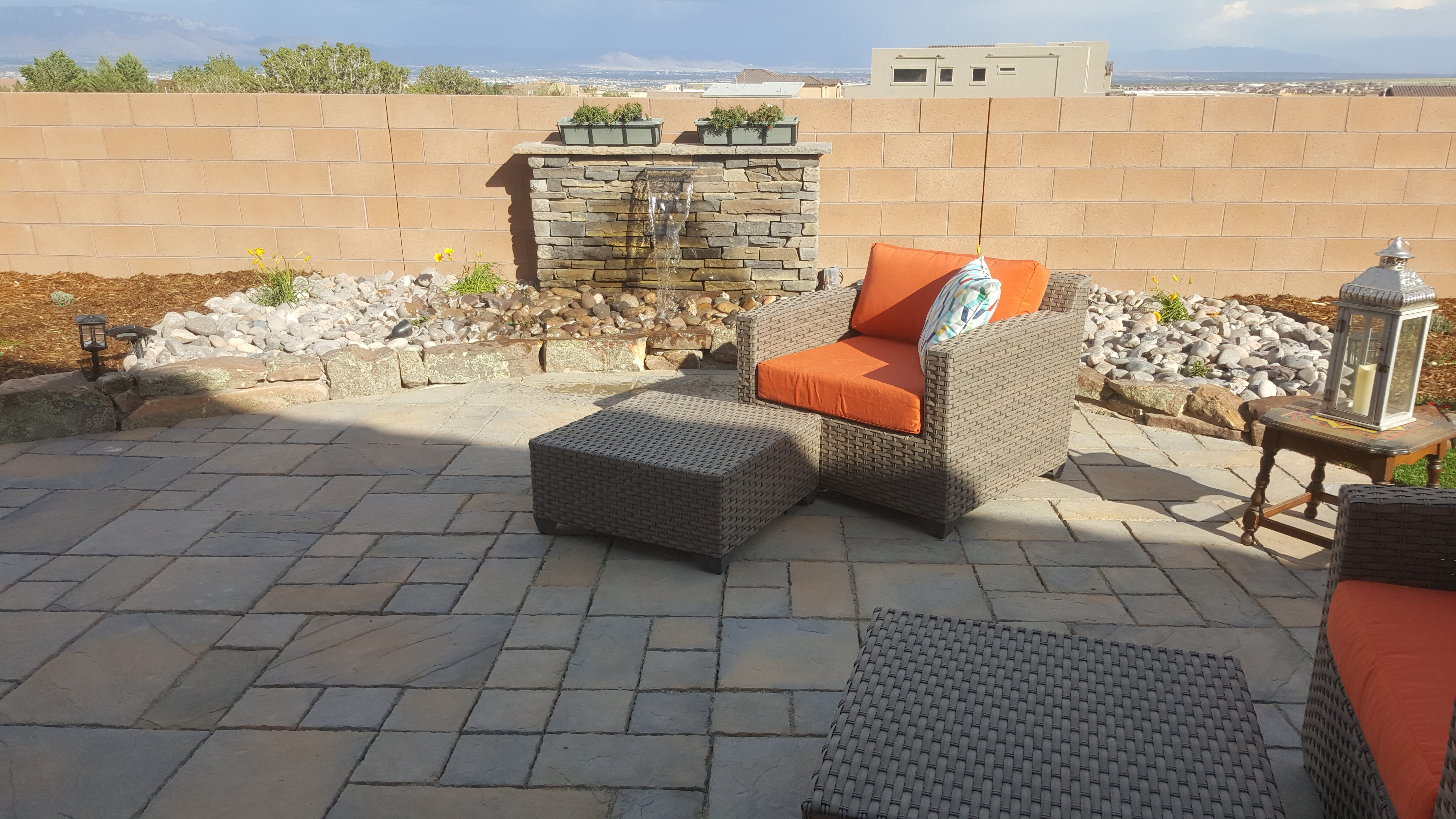 Backyard Remodel Green Summit Landscape Management Llc