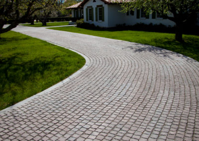Orchard House Paver Install