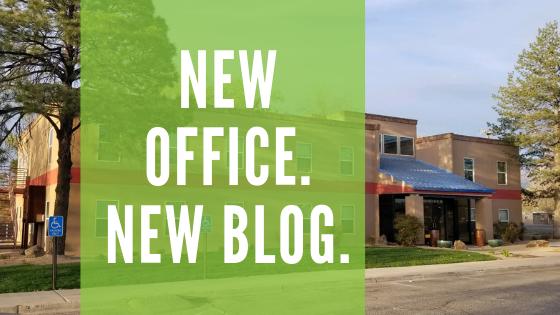 "New Office. New ""Blog."""